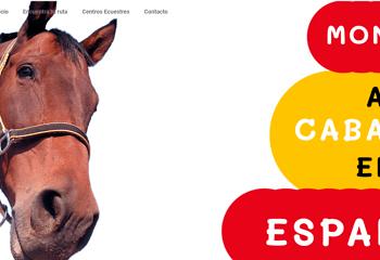 Montar a caballo en Esapña Web